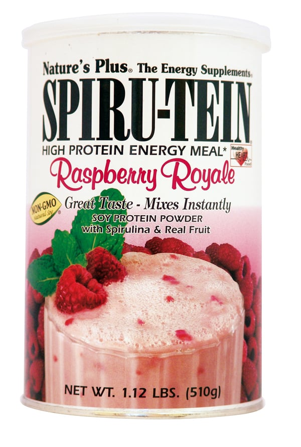 Nature's Plus, SpiruTein Raspberry Royale, 510 gr