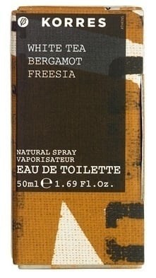 Korres Eau de Toilette White Tea / Bergamot / Freesia Άρωμα για Γυναίκες, 50ml