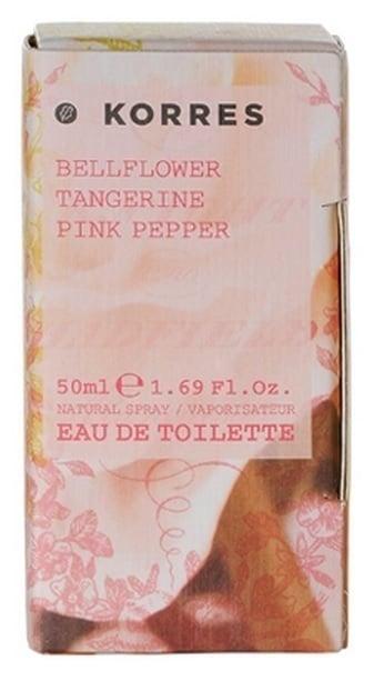 Korres Eau de Toilette Bellflower / Tangerine / Pink Pepper Άρωμα για Γυναίκες, 50ml