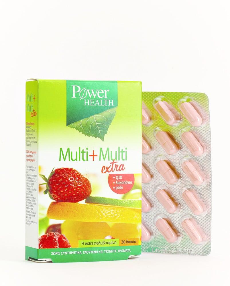 Power Health Multi + Multi Extra Πολυβιταμίνη, 30 tabs