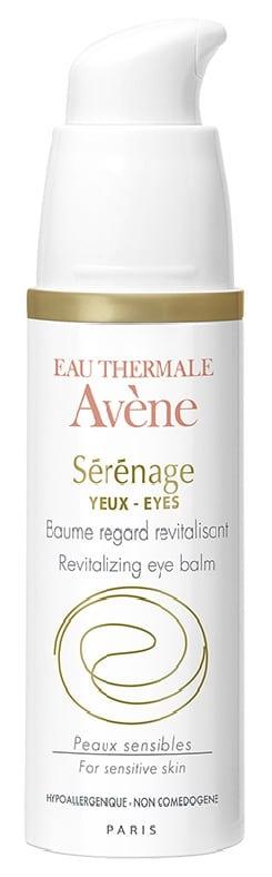 Avene Eau Thermale Serenage Yeux Baume Αντιγηραντική κρέμα για τα μάτια & τα βλέφαρα, 15ml