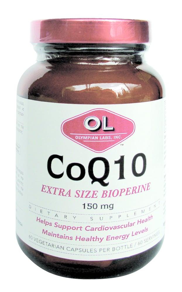 Inpa, Olympian Labs, Co Q10 Extra Bioperine 150 mg, 60 caps
