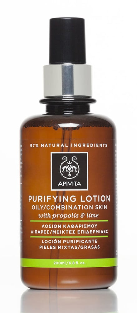 Apivita Purifying Lotion Propolis & Lime Λοσιόν Καθαρισμού για Λιπαρές & Μεικτές Επιδερμίδες, 200ml