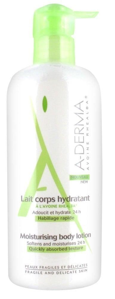 A-Derma Lait Corps Hydratant Λεπτόρρευστο Γαλάκτωμα Σώματος με άμεση απορρόφηση, με άρωμα, 400ml
