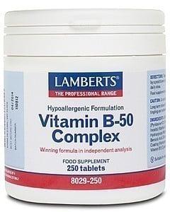 Lamberts B50 Complex, 250 tabs