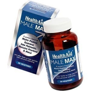 Health Aid Male Max, 30 ταμπλέτες