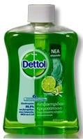 Dettol Liquid Soap Refresh, Ανταλλακτικό , 250 ml