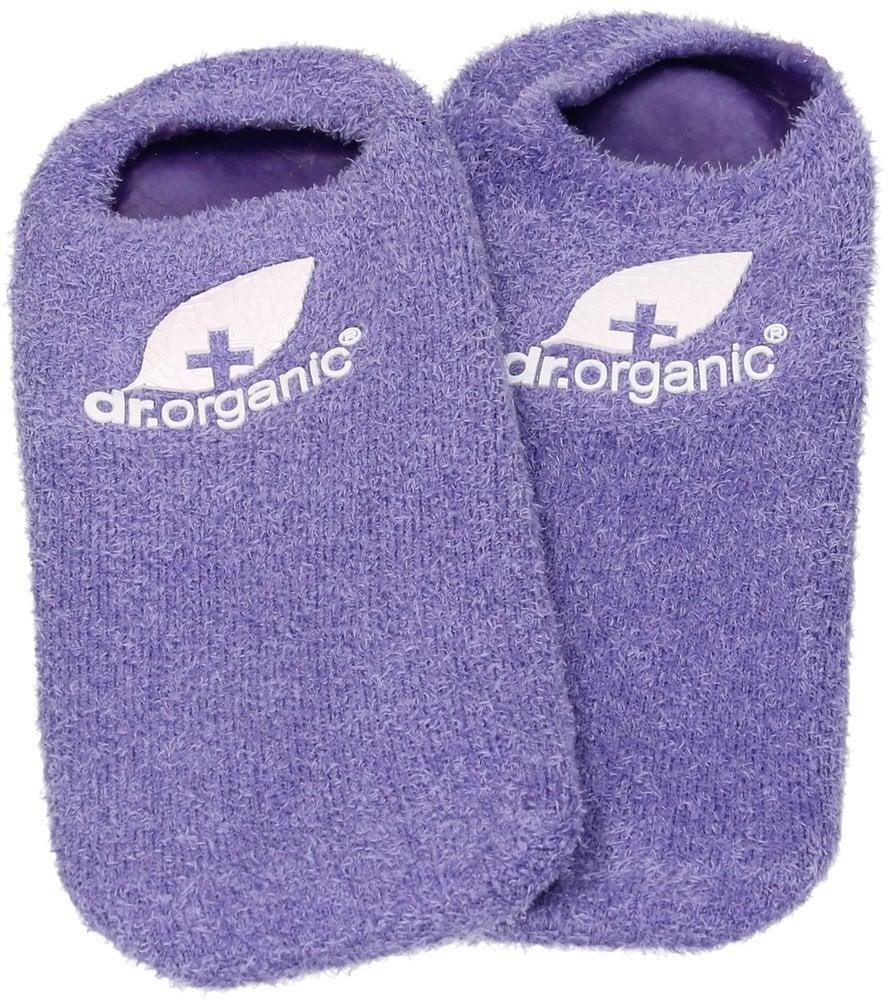 Dr. Organic Lavender Oil Moisturising Gel Socks, 2 καλτσάκια 40 χρήσεων