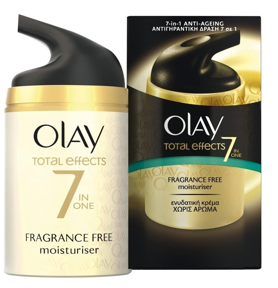 Olay Total Effects 7 Αντιγηραντική Κρέμα Προσώπου χωρίς Άρωμα, 50ml