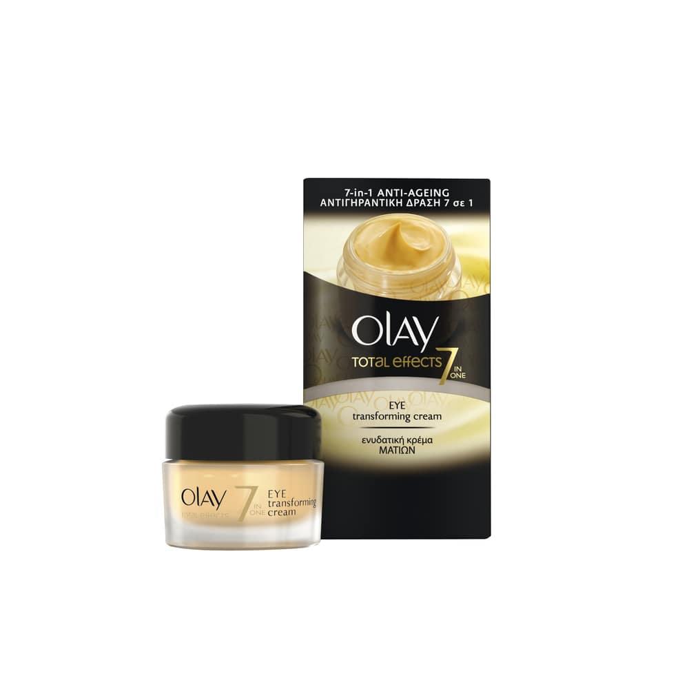 Olay Total Effects 7 Eye Transforming Cream Αντιρυτιδική & Ενυδατική Κρέμα Ματιών, 15ml