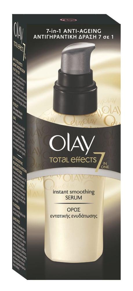 Olay Total Effects Instant Smoothing Serum Ενισχυμένος Ορός Εντατικής Ενυδάτωσης, 50ml