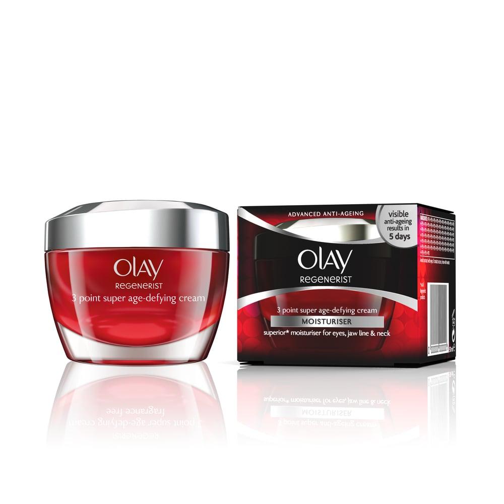 Olay Regenerist 3 Point Super Age Defying Cream Αντιγηραντική & Ενυδατική Κρέμα Προσώπου Στοχευμένης Δράσης 3 Σημείων, 50ml