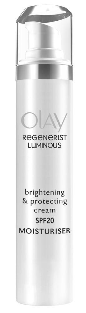 Olay Regenerist Brightening & Protecting Cream SPF20 Κρέμα Λάμψης & Μείωσης των Κηλίδων, 50ml