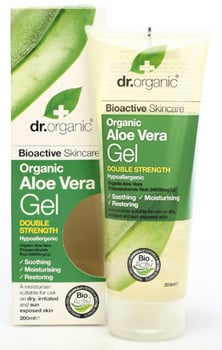 Dr. Organic Aloe Vera Gel Double Strength, 200 ml