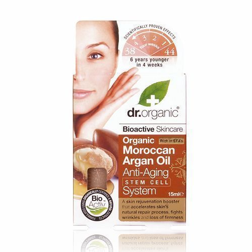 Dr. Organic Moroccan Argan Oil Anti-Aging Stem Cell System, 30 ml