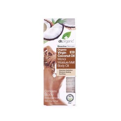 Dr. Organic Virgin Coconut Oil Moisture Melt Body Oil, 90 gr