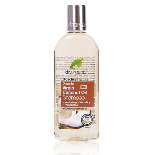 Dr. Organic Virgin Coconut Oil Shampoo, 265 ml