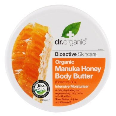 Dr. Organic Manuka Honey Body Butter, 200 ml