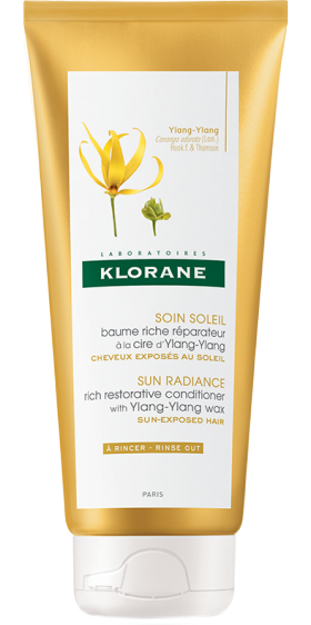 Klorane Ylang-Ylang Conditioner Sun Radiance, 200ml