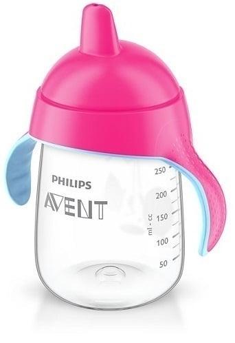 Philips Avent SCF755/07 Κύπελλο με Στόμιο χωρίς Διαρροές 18m+, Χρώμα Ροζ, 340ml