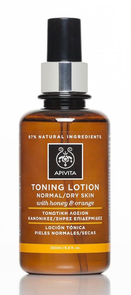 APIVITA Cleansing Τονωτική λοσιόν για Κανονικές & Ξηρές Επιδερμίδες, Με Μέλι & Πορτοκάλι, 200ml