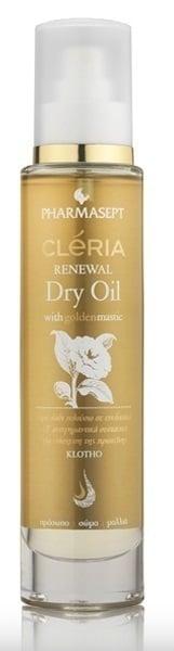 Pharmasept Cleria Renewal Dry Oil Ξηρό Λάδι 3 σε 1, για Πρόσωπο - Σώμα & Μαλλιά, 100ml