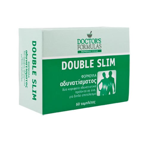 Doctor's Formulas Double Slim, 60 caps