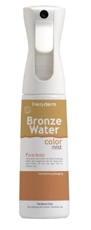 Frezyderm Water Color Mist Αυτομαυριστικό Spray-mist για Ομοιόμορφο Φυσικό Bronze Χρώμα στην Επιδερμίδα, 300 ml