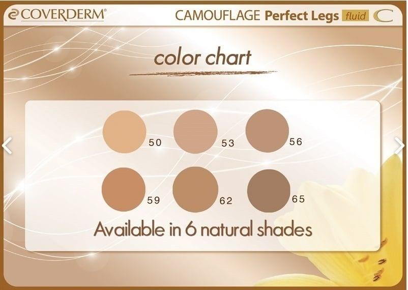 Coverderm Perfect Legs Fluid SPF40 No 62 .75ml