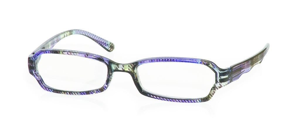 Vitorgan EyeLead E131 Γυναικεία Γυαλιά Πρεσβυωπίας, Κοκκάλινα Διαφανές Καρώ Χρώμα. Συνοδεύεται από μαλακή θήκη με κορδόνι & πανάκι καθαρισμού, 1 τμχ