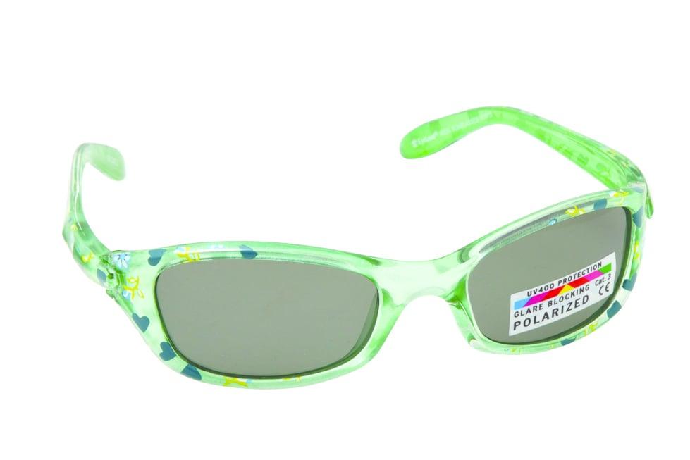 Vitorgan Eyelead Polarized Κ1015 Παιδικά / Βρεφικά Γυαλιά Ηλίου Καουτσούκ σε Χρώμα Πράσινο απο 12 - 24 Μηνών ,Συνοδεύεται από ειδική προστατευτική θήκη - πουγκί ,1τμχ