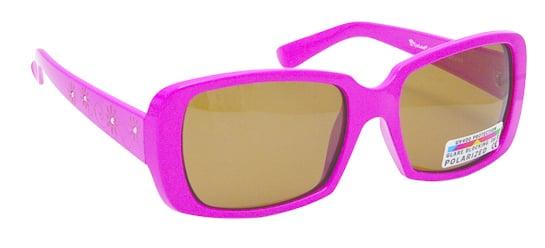 Vitorgan Eyelead Polarized Κ1019 Παιδικά / Βρεφικά Γυαλιά Ηλίου Καουτσούκ Τετράγωνα σε Χρώμα Ροζ απο 2 - 12 ετών ,Συνοδεύεται από ειδική προστατευτική θήκη - πουγκί ,1τμχ