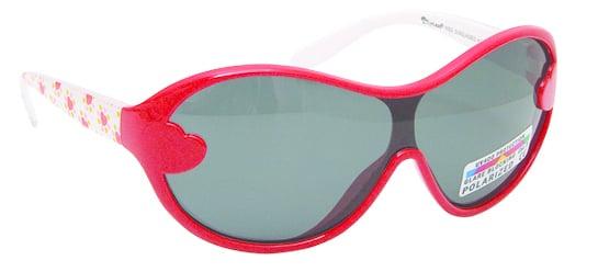 Vitorgan Eyelead Polarized Κ1021 Παιδικά / Βρεφικά Γυαλιά Ηλίου Καουτσούκ Κόκκινο-Λευκό Χρώμα απο 2 - 12 ετών ,Συνοδεύεται από ειδική προστατευτική θήκη - πουγκί ,1τμχ