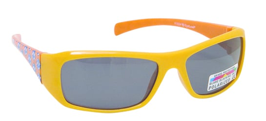 Vitorgan Eyelead Polarized Κ1024 Παιδικά / Βρεφικά Γυαλιά Ηλίου Καουτσούκ σε Χρώμα Κίτρινο απο 2 - 12 ετών ,Συνοδεύεται από ειδική προστατευτική θήκη - πουγκί ,1τμχ