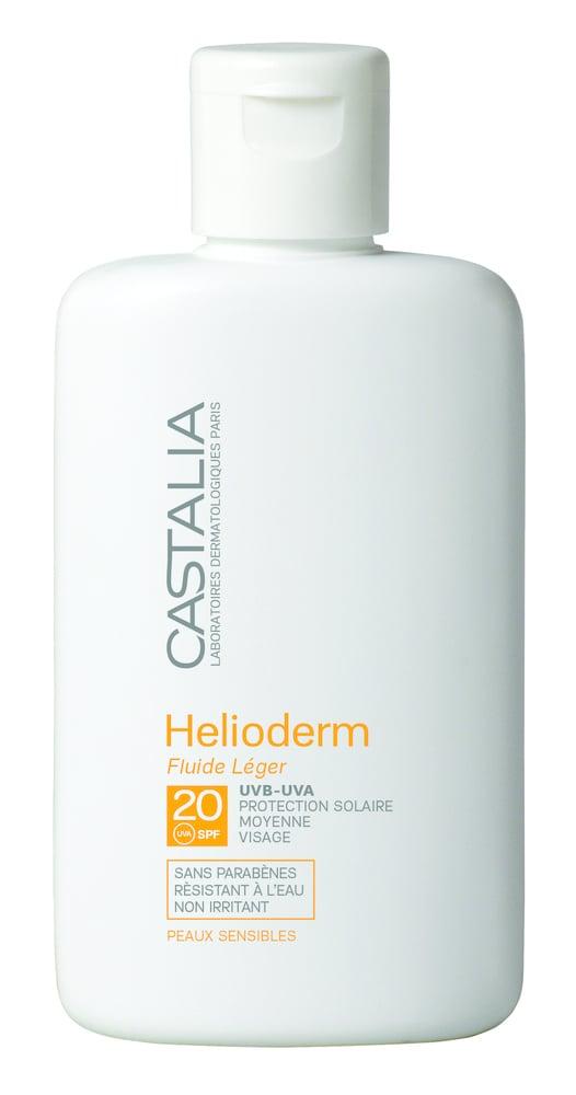 Castalia Helioderm Fluide Legere SPF20 ΠΡΟΣΦΟΡΑ +50% ΔΩΡΕΑΝ ΠΡΟΪΟΝ Αντηλιακή Προσώπου Μεσαίας Προστασίας, 60ml