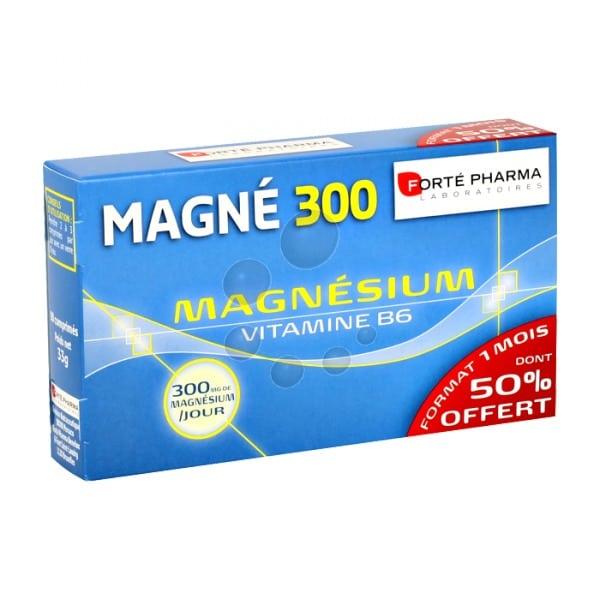 Forte Pharma Magne 300 Magnesium & Vitamine B6 ,90 tablets