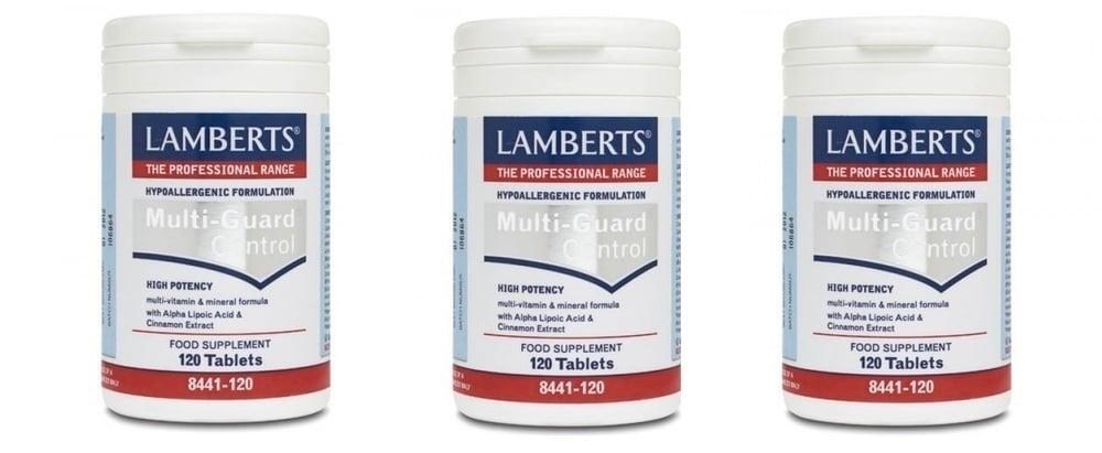 3x LAMBERTS MULTI GUARD CONTROL, 3x 120 tabs