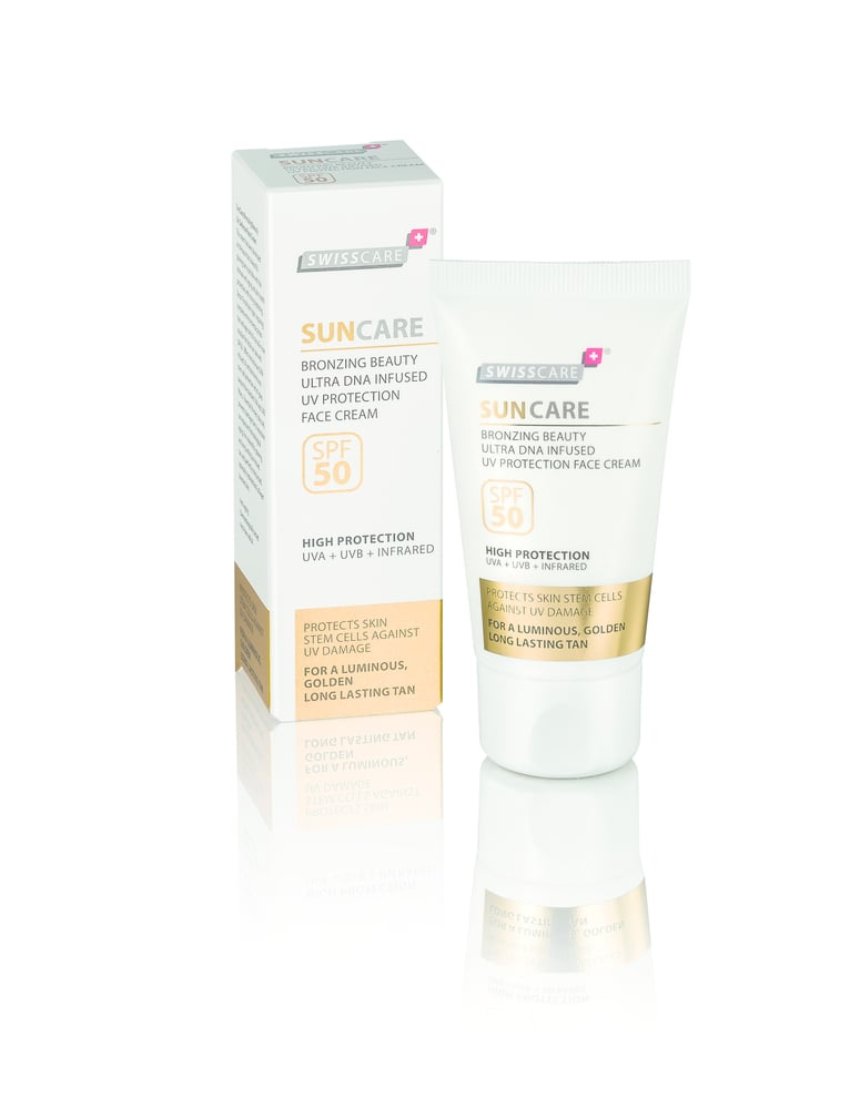 SwissCare Suncare Bronzing Beauty UV Protection Face Cream Αντηλιακή Κρέμα Πρόσωπου SPF 50, 50 ml