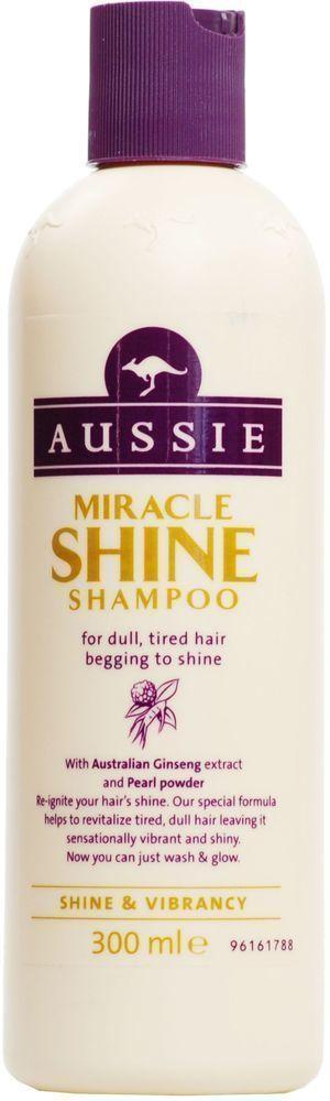 Aussie Miracle Shine Shampoo Σαμπουάν για Θαμπά & Ξηρά Μαλλιά, 300 ml