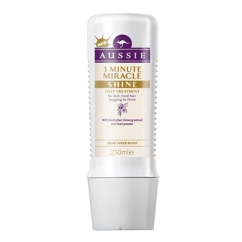 Aussie 3 Minute Miracle Shine Βαθιά Θεραπεία 3' για Θαμπά & Ξηρά Μαλλιά, 250 ml