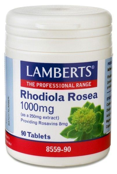 LAMBERTS RHODIOLA ROSEA 1000mg, 90 tabs