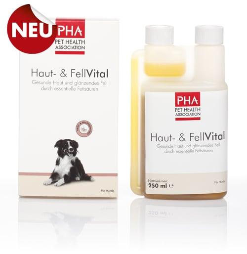 PHA Skin Vital Συμπλήρωμα Διατροφής για Υγιές Δέρμα & Τρίχωμα του Σκύλου, 250 ml