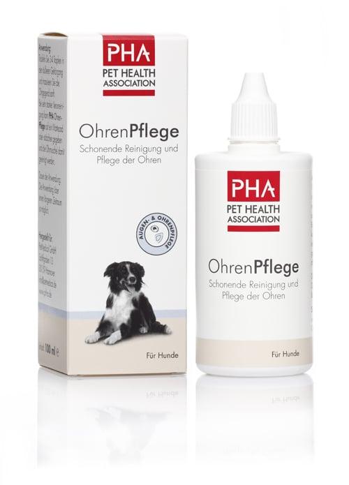 PHA Ear Care Υγρό για την Περιποίηση των Αυτιών του Σκύλου, 100 ml