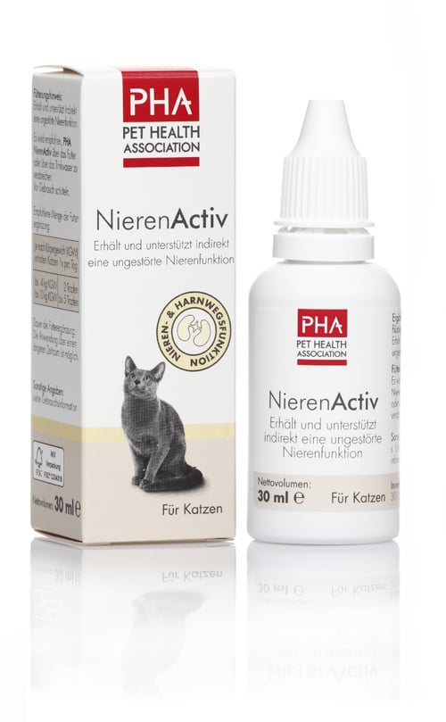 PHA Φροντίδα Νεφρού, ειδικά σχεδιασμένο για την προώθηση της Υγιούς Λειτουργίας των Νεφρών της Γάτας, 30 ml