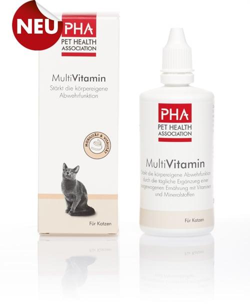 PHA MultiVit Plus Πολυβιταμίνη για Γάτες, 100 ml