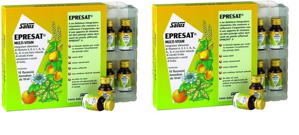 2x Power Health Epresat Multivitamin 2x 10x10ml