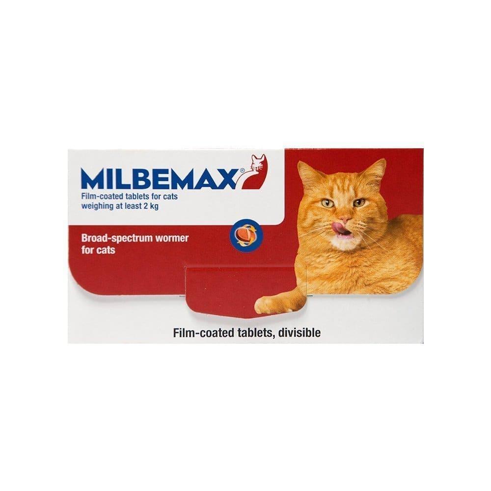 Premier Shukuroglou Milbemax Large Cat Συμπλήρωμα Διατροφής για Μεγάλες Γάτες, για τη Θεραπεία των Μικτών Μολύνσεων από ενήλικα Κεστώδη & Νηματώδη, 20 tabs