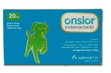 Premier Shukuroglou Onsior Dog 20mg Συμπλήρωμα για το Σκύλο, για την Αντιμετώπιση του Πόνου & της Φλεγμονής, 28 tabs
