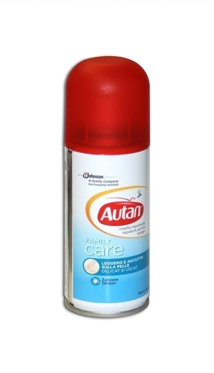Autan Family Care Soft Spray Απωθητικό Κουνουπιών σε Σπρέι (Αερόλυμα Πούδρας), 100 ml