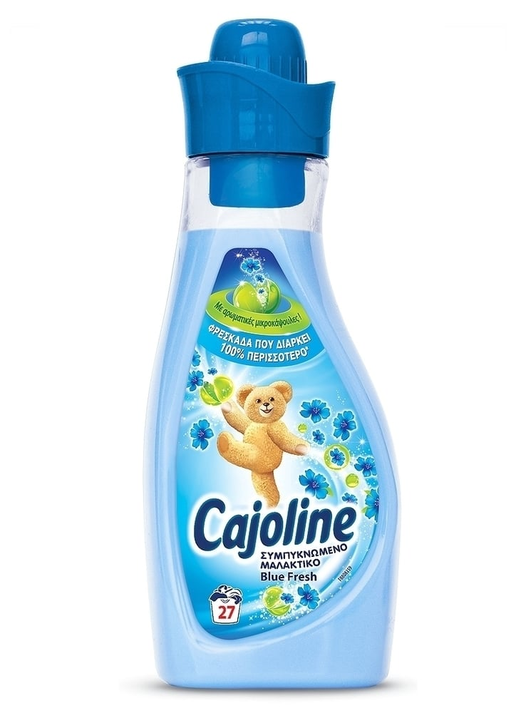Cajoline Sensations Blue Fresh Συμπυκνωμένο Μαλακτικό, 750 ml / 27 μεζούρες